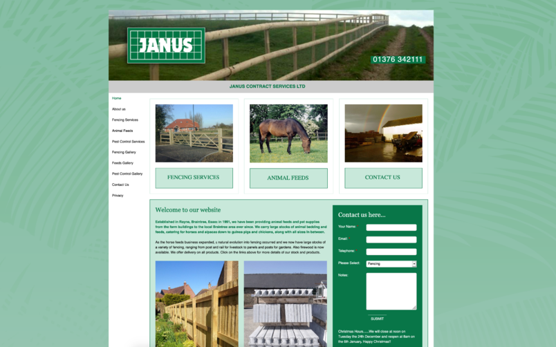 Before Website Re Design