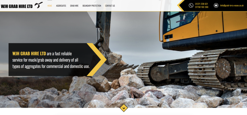Construction Website Colchester